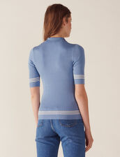 Jersey Tipo Polo : null color Bleu jean