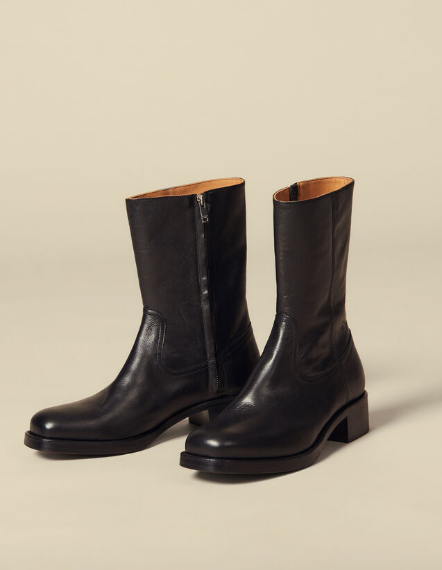 Botines Camargueses : Zapatos color Negro