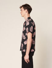 Camisa Con Estampado Hawaiano : Sélection Last Chance color Negro