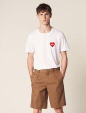 Bermudas Con Pinzas : Pantalones & Bermudas color Topo