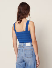 Top Corto De Punto : LastChance-FR-FSelection color Bleu jean