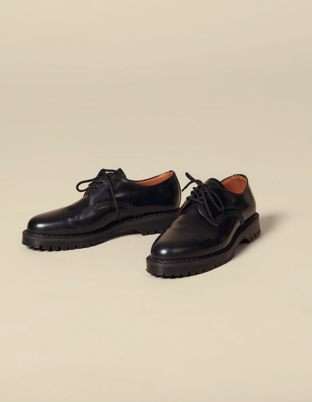 Derbies con crampones : Zapatos color Negro