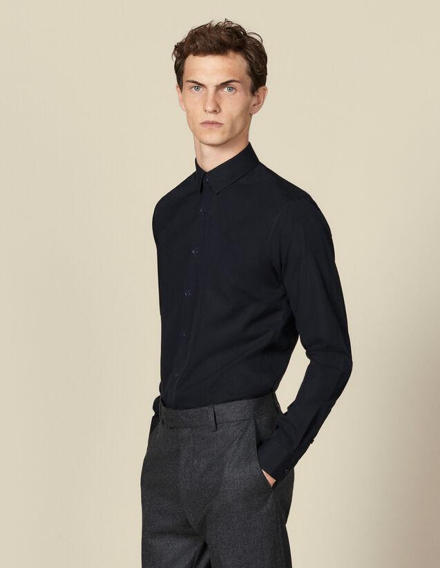 Camisa Non Iron : Camisas color Marino