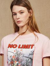 Camiseta Con Mensaje E Iconografía : null color Rosa