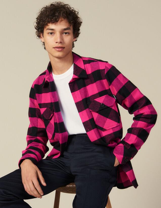 Camisa De Cuadros De Algodón : Nueva Colección color Rosa