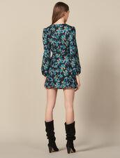 Vestido de tul bordado de lentejuelas : FBlackFriday-FR-FSelection-30 color Noir/turquoise