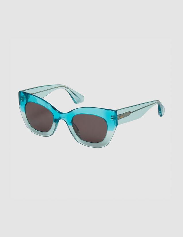 Gafas de sol oversize : Toda la colección de Invierno color Noir/Ecaille