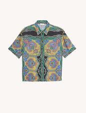 Camisa estampada de manga corta : Tops & Camisas color Negro