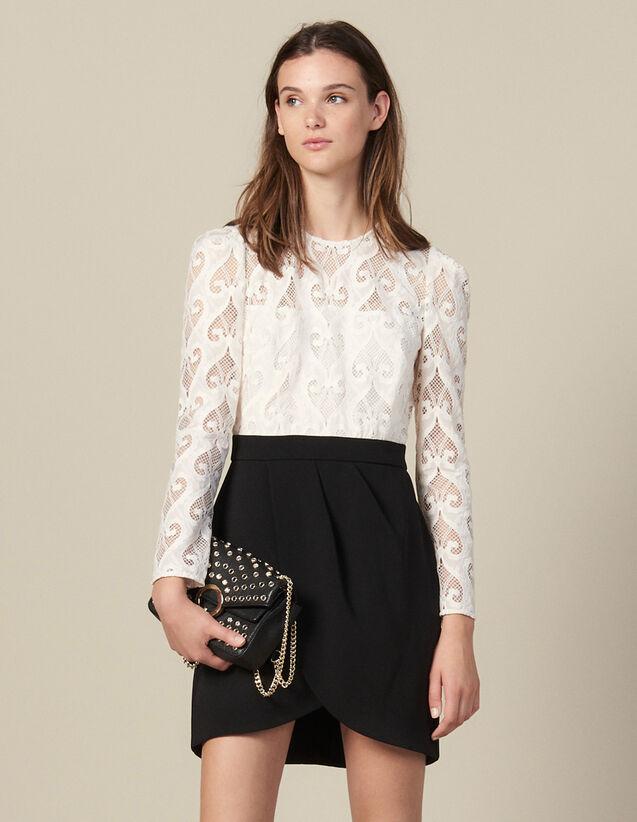 Vestido trampantojo : Vestidos color Negro