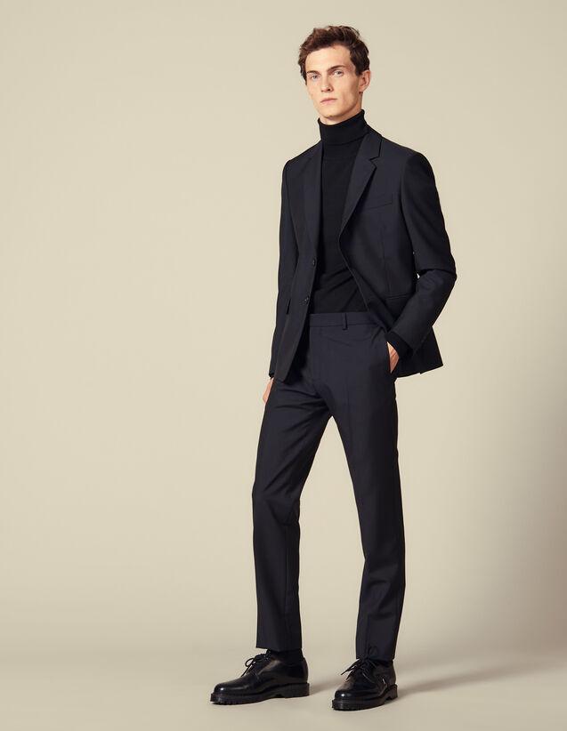 Pantalón de traje de corte clásico : Trajes & Smokings color Marino
