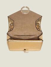 Bolso Yza modelo pequeño color oro : Toda la colección de Invierno color Full Gold