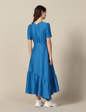 Vestido Largo Con Anilla Forrada : LastChance-FR-FSelection color Bleu jean