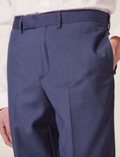 Pantalón De Traje De Lana : Copy of JP-DE-HCostumes&Smokings color Gris azulado