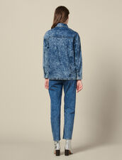 Camisa Vaquera Adornada Con Tachuelas : FBlackFriday-FR-FSelection-30 color Blue Night - Denim