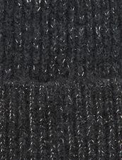 Gorro De Lúrex : Guantes & Gorros color Gris Oscuro