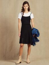 Vestido Corto De Punto Con Tirantes : LastChance-FR-FSelection color Negro