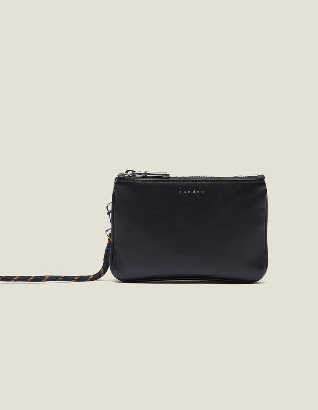 Pochette Mini Addict Con Cordón : Coleccion de verano color Negro