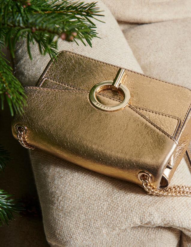 Bolso Yza modelo pequeño color oro : Todos Bolsos color Full Gold