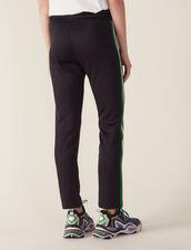 Pantalón Tipo Jogging : Pantalones color Negro