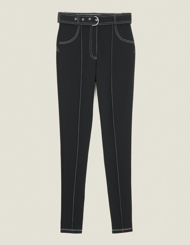 Legging Con Pespuntes En Contraste : FBlackFriday-FR-FSelection-30 color Negro