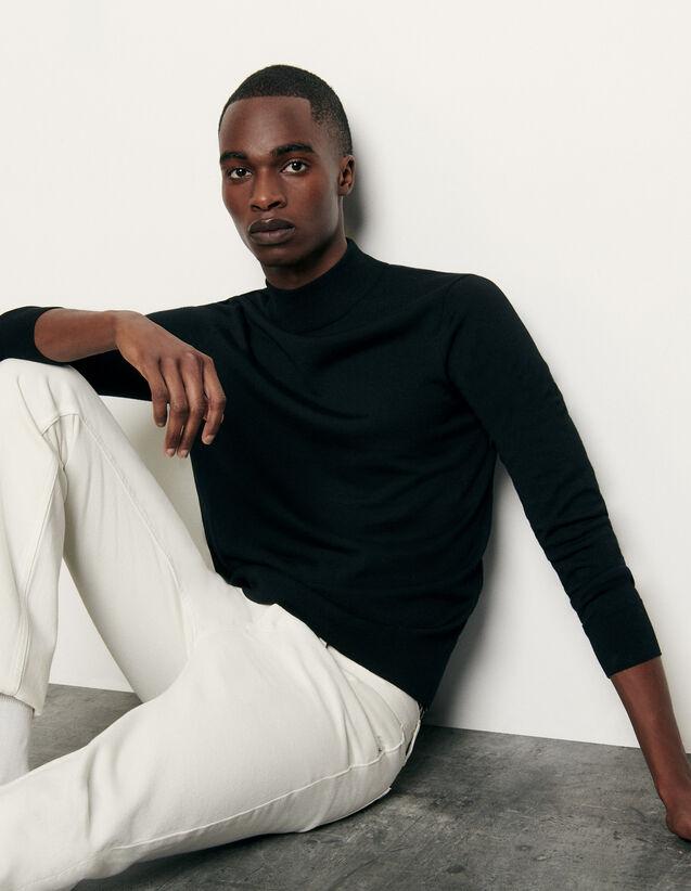 Jersey de cuello chimenea : Jerseys & Cárdigans color Negro