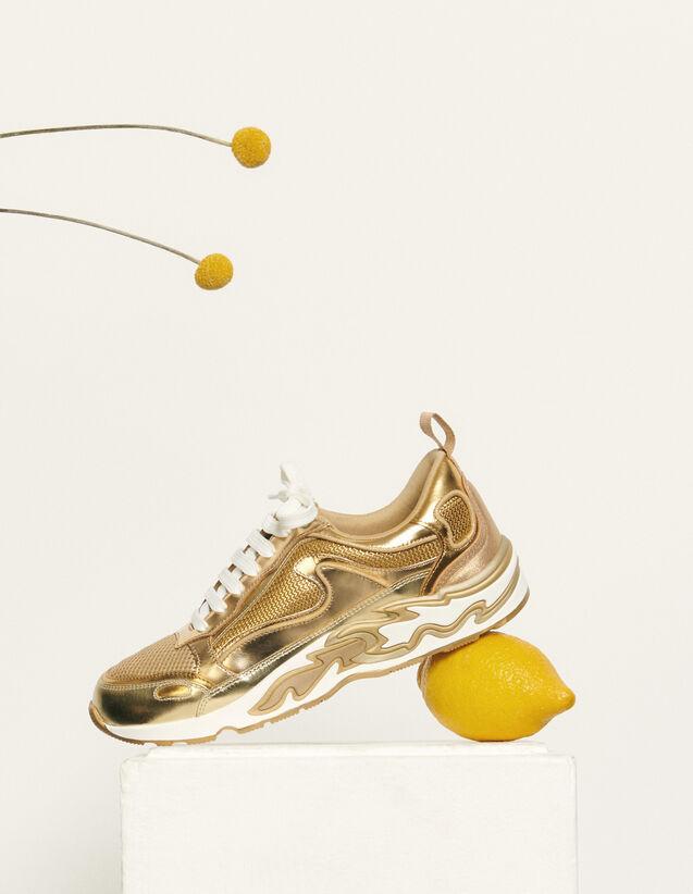 Deportivas Flame : Todos Zapatos color Full Gold