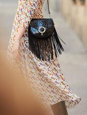 Bolso Pépita Modelo Pequeno Con Flecos : Todos Bolsos color Negro