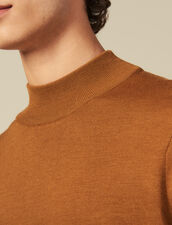 Jersey de cuello chimenea : Jerseys & Cárdigans color Vert foncé