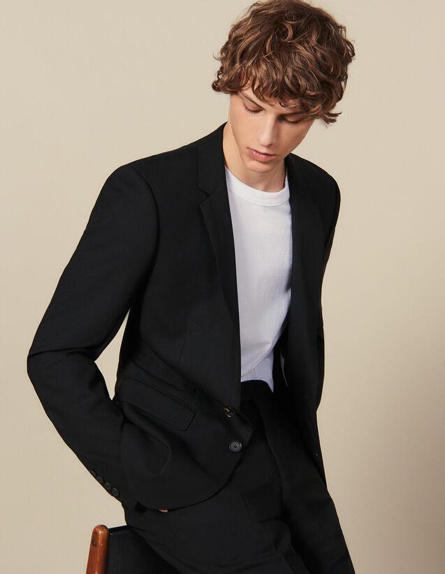 Chaqueta de traje clásica de lana : Trajes & Smokings color Marino