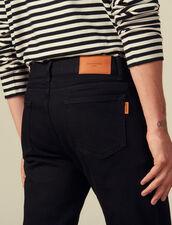 Vaquero de corte ajustado : Vaqueros color Black - Denim