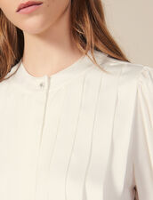 Blusa con pliegues planos : FBlackFriday-FR-FSelection-30 color Crudo