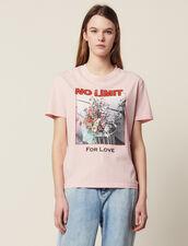 Camiseta Con Mensaje E Iconografía : LastChance-FR-FSelection color Rosa