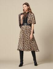 Vestido Estampado En Toda La Prenda : FBlackFriday-FR-FSelection-30 color Negro
