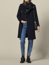Abrigo corte oficial de mezcla de lana : Copy of VP-FR-FSelection-PAP&ACCESS color Marino