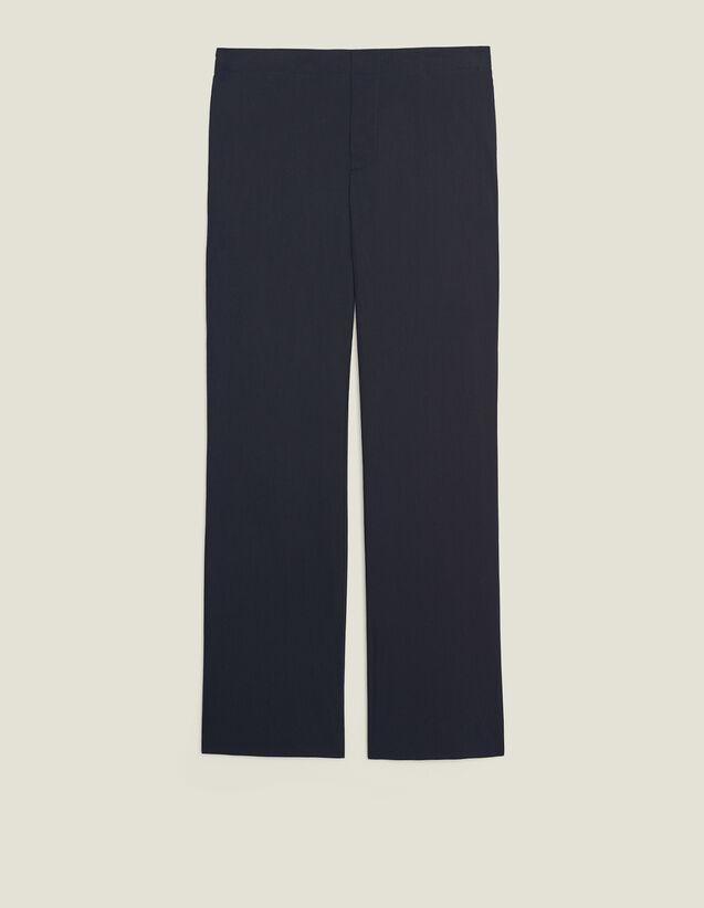 Pantalón Con Cintura Elástica : Sélection Last Chance color Marino