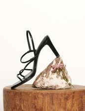 Sandalias con tiras finas : Todos Zapatos color Negro
