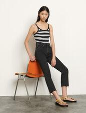 Body marinero de tirantes : Tops & Camisas color Negro/Blanco