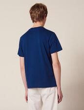 Camiseta Con Parche Con Mensajes : Sélection Last Chance color Blanco