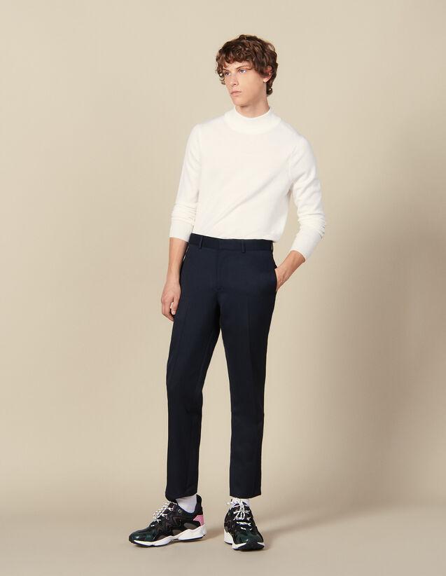 Pantalón Clásico : Colección de Invierno color Marino