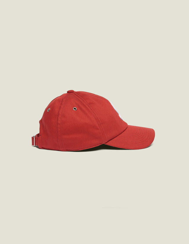 Gorra Con Parche S : La maleta de verano color Rojo