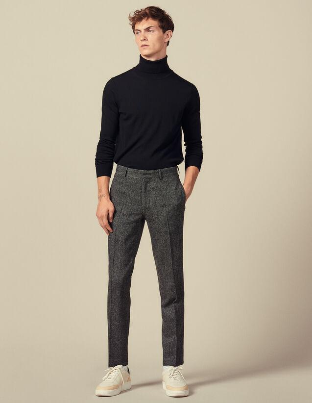 Pantalón de traje grueso : Trajes & Smokings color Gris