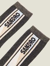 Calcetines De Lúrex : Toda la colección de Invierno color Negro