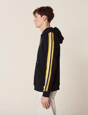 Hoodie Con Capucha Y Pasamanos De Rayas : SOLDES-UK-HSelection-Pulls&Cardigans color Marino