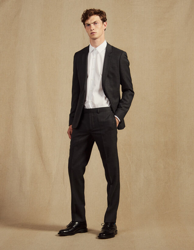 Pantalón de traje : Trajes & Smokings color Gris Moteado