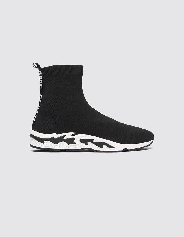 Flame Deportivas : Todos Zapatos color Negro