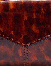 Cartera De Piel De Charol Estampada : Novedades color Leopard orange