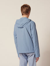 Blouson Technique À Capuche : LastChance-FR-H60 color Gris azulado