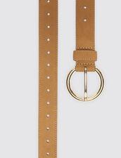 Cinturón De Piel : Novedades color Marino Oscuro