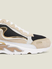 Deportivas flame : Todos Zapatos color Oro