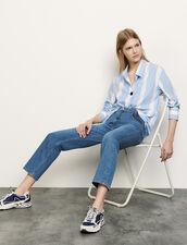 Camisa oversize de rayas : Tops & Camisas color Ciel